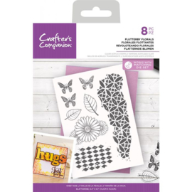 CC - Clearstamp - Flutterby Florals