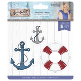 Sara Signature Collection Nautical - Snijmal - Anchors Aweigh