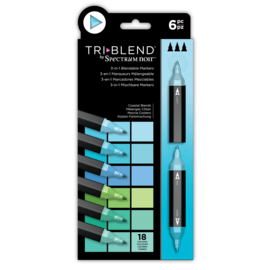 Spectrum Noir  - Triblend - Coastal Blends (Kust Blends) a 6 stuks