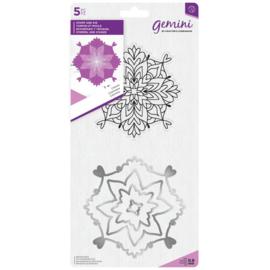 Gemini Mandala Clearstamp & Snijmal - Cosmic