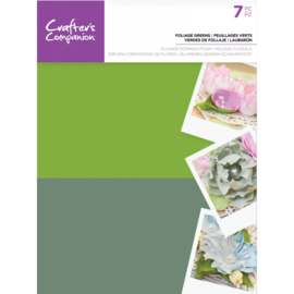 Crafter's Companion Floral Foam - Blad groen