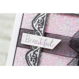 Gemini Folie Stamp mal - Elementen - Royal Damask Achtergrond