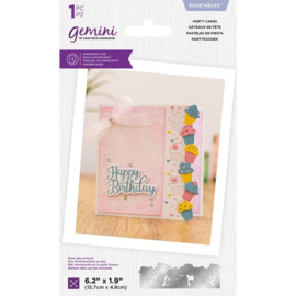 Gemini Edge'able snijmal - Party Cakes