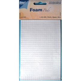 Foam Pads 1,0 mm/5mm.blok WIT