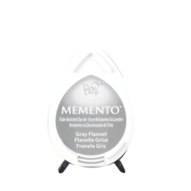 Memento Dew Drop Ink Pad Gray Flannel