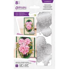 Gemini Elements snijmal - Peony Blooms
