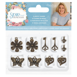 Sara Signature Collection Sew Homemade - Metal Charms
