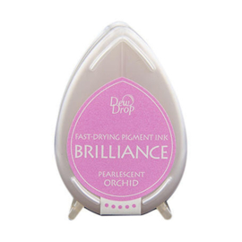 Dew Drop Brillance Ink Pad Pearlscent Orchid