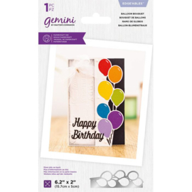 Gemini Edge'able snijmal - Balloon Bouquet