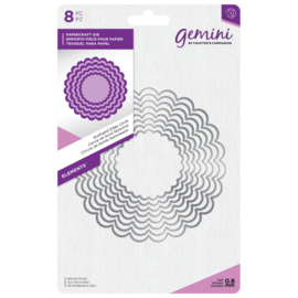 Gemini Elements - Scalloped Edge Circle (Geschulpte rand cirkel)