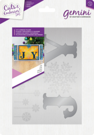 Kerst Cut and Emboss folders