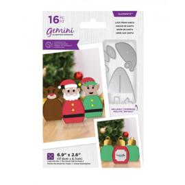 Kerst verpakkingen snijmallen