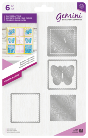 Gemini Create-a-Card - Butterfly Patchwork (Vlinder)
