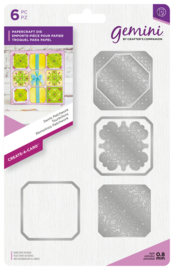 Gemini Create-a-Card - Swirl Patchwork