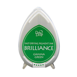 Dew Drop Brillance Ink Pad Gamma Green
