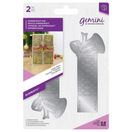 Gemini Elements -  Wrap snijmal - Jingle Bells