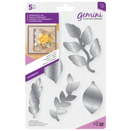 Gemini Snijmal Floral Foam - Elements - Leaves & Vines (Bladeren en takken)