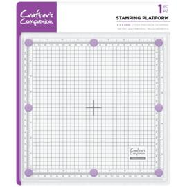 Crafter's Companion Stempel platform - 8x8inch (20x20 cm)