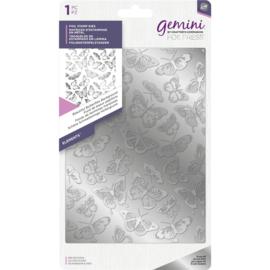 Gemini Folie Stamp mal - Elementen - Beautiful Butterflies (Vlinders) Achtergrond
