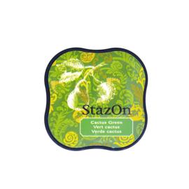 StazOn midi solvent dye ink 5,8x5,8cm Cactus Green