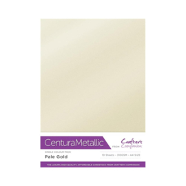 Crafter's Companion Centura Metallic Pale gold