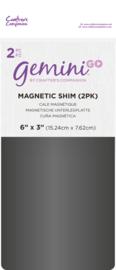 Gemini GO Accessoires - Magnetische mat a 2 stuks
