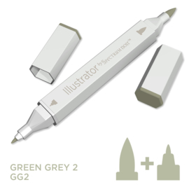 Spectrum Noir Illustrator losse pennen - Green Grey (Groengrijs GG2)