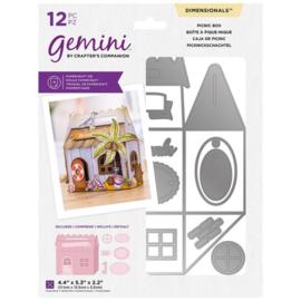 Gemini Dimensional snijmal - Picknic Box