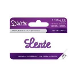 Crafter's Companion Die'sire Essentials Only Words Snijmal Nederlands - Lente