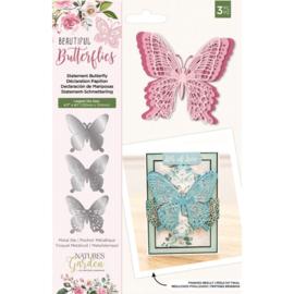 Beautiful Butterflies - Metalen snijmal - Statement Butterfly