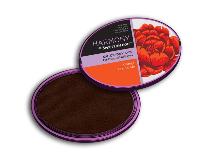 Spectrum Noir Inktkussen - Harmony Quick Dry - Orange (Oranje)