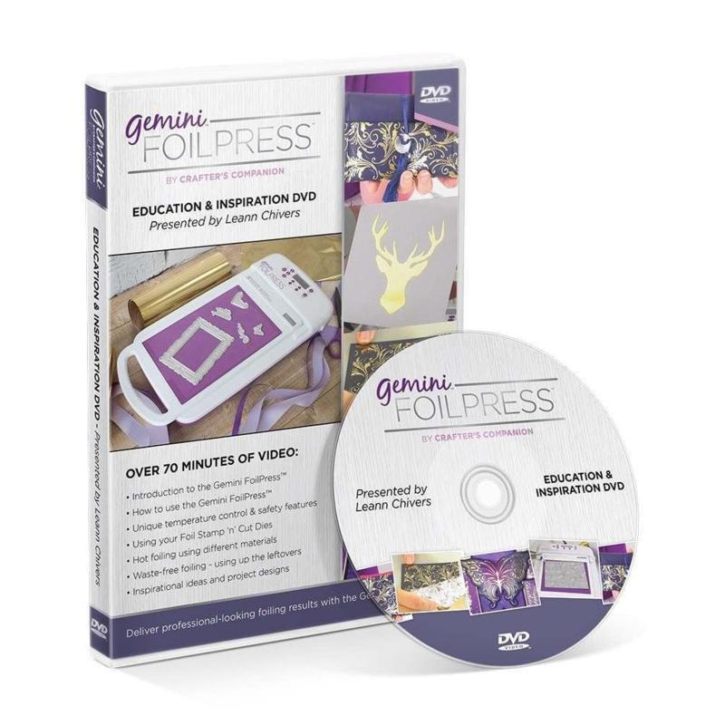 Gemini Foilpress - Onderwijs & Inspiratie DVD
