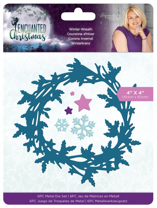 Enchanted Christmas - Metalen snijmal - Winter Wreath