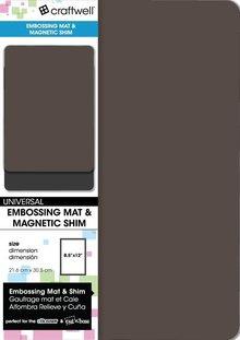 Craftwell Embossing Mat & Magnetic Shim (EB-REM-SH)