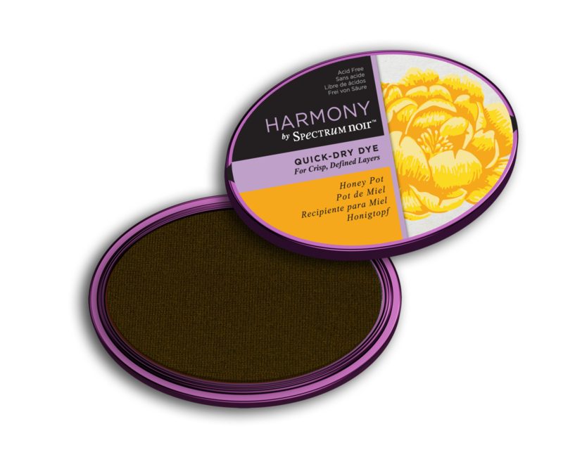 Spectrum Noir Inktkussen - Harmony Quick Dry - Honey Pot (Honingpot)