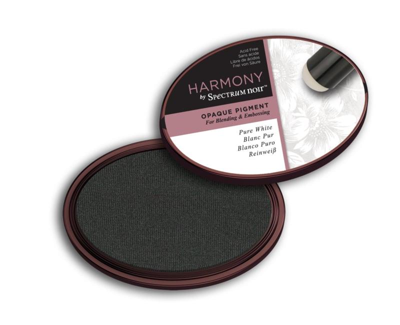 Spectrum Noir Inktkussen - Harmony Opaque Pigment -Pure White (Puur Wit)