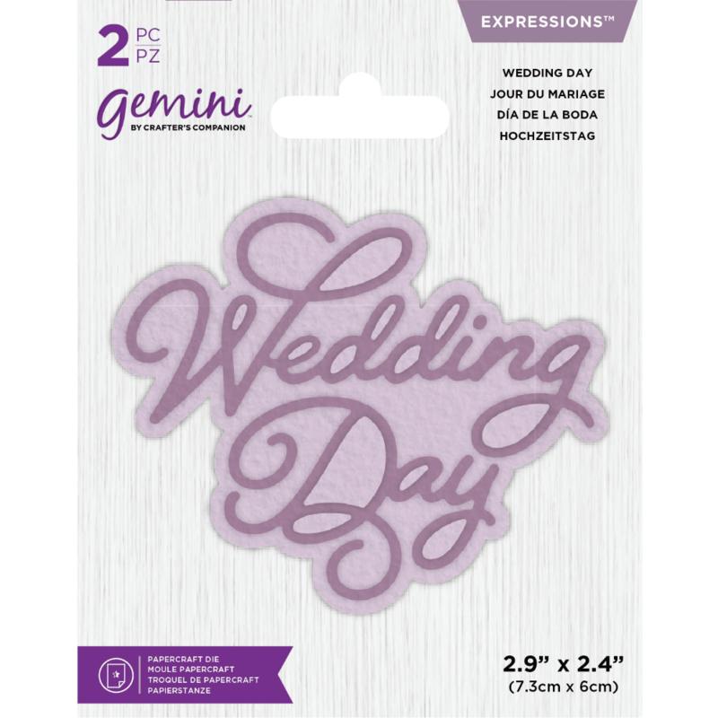 Gemini Expressions - Wedding Day