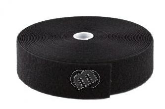 Veloursband zwart
