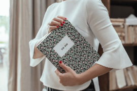 Jaarplanner Lily Leopard Green