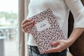 Weekplanner Lily Leopard Blush