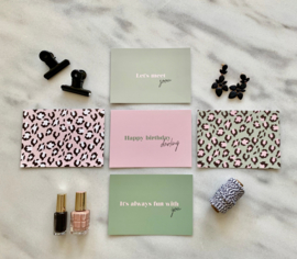 Lily Postcard set