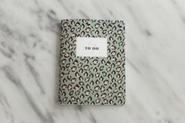 Weekplanner Lily Leopard Green