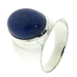 Zilveren ring met Lapis Lazuli edelsteen
