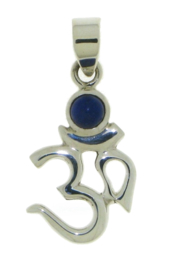 Aum hanger met Lapis Lazuli