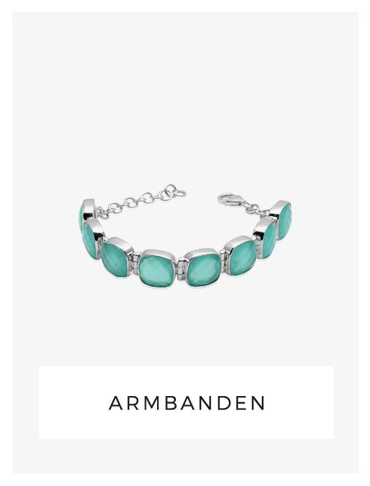 armbanden, chalcedoon, blauwe edelsteen, topaas kleur, online