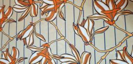 Hoofddoek Julius Holland Wax Block Print