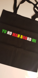 Totebag YU NO MAN BROKO MI