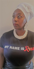 Ladiesfit T-shirt My name is Rosa