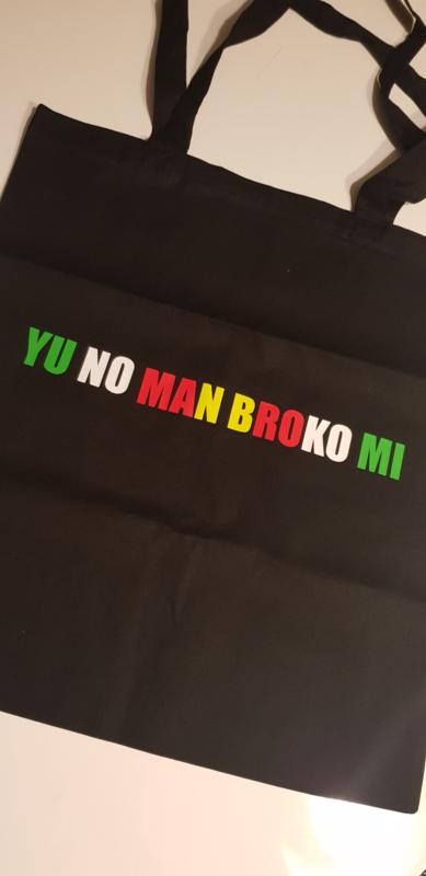 Totebag YU NO MAN BROKO MI