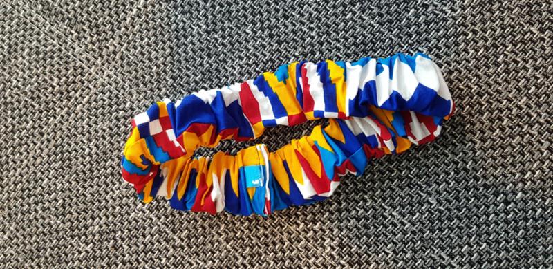 African print haarelastiek